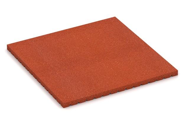 Mata do boksów dla koni von WARCO im Farbdesign Czerwony mit den Abmessungen 1000 x 1000 x 43 mm. Produktfoto von Artikel 3649 in der Aufsicht von schräg vorne.